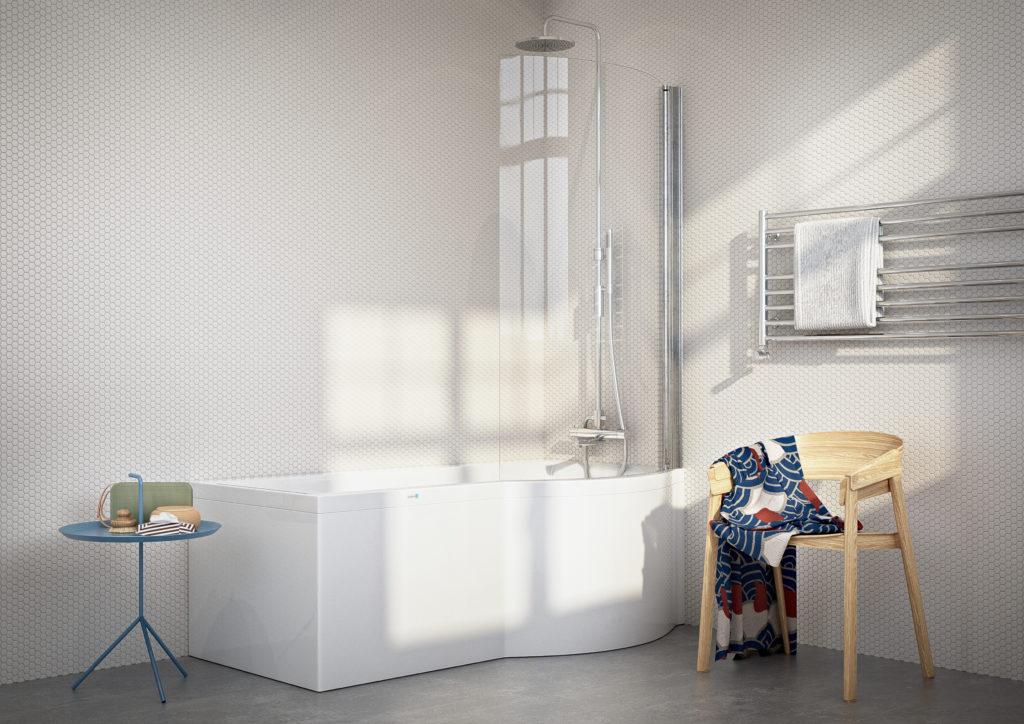 Nordhem, Solvik badkar med badkarsvägg