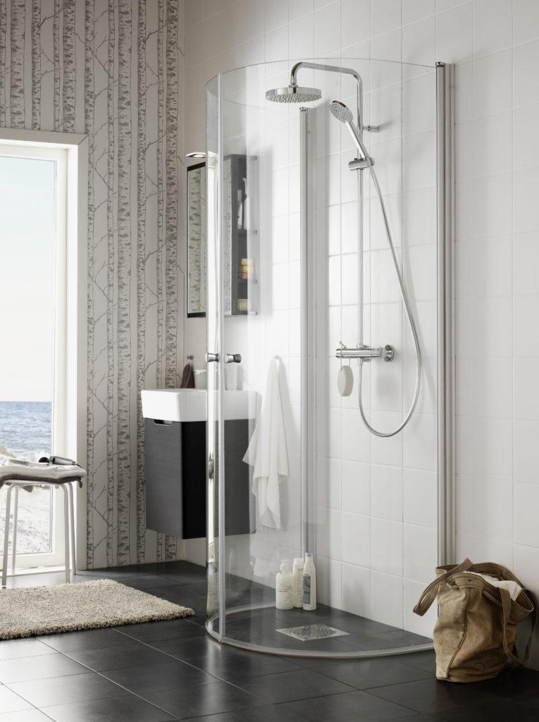 Hafa, Igloo Wall flexibel duschhörna, Hafa, One badmöbel